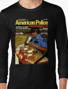 American Police Long Sleeve T-Shirt
