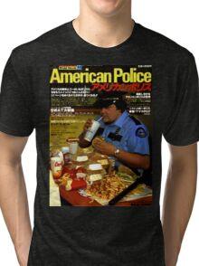 American Police Tri-blend T-Shirt