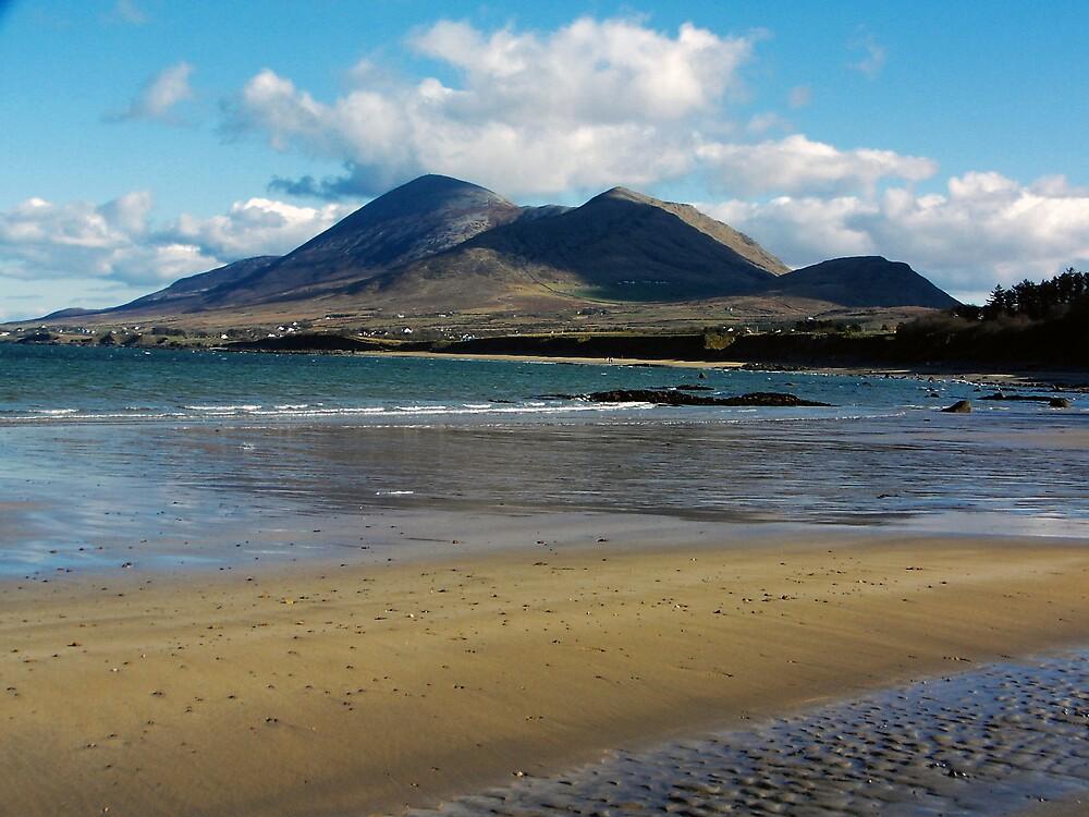 Croagh Patrick beach view by John Quinn