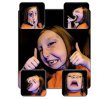 Funny Faces Photographic Print