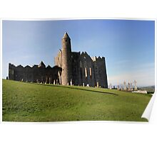 Rock of Cashel view Poster