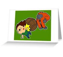 'Rang Barrel! Greeting Card