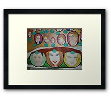 Dreamtime:  Prince & Princesses  Framed Print