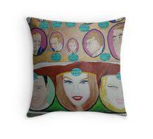 Dreamtime:  Prince & Princesses  Throw Pillow