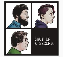 Shut Up a Second 2015 Logo Baby Tee