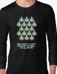 Construct Additional Pylons Long Sleeve T-Shirt