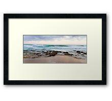 Rough Seas - Australia Framed Print
