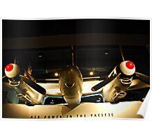 Aircraft - War Memorial  - Canberra Poster