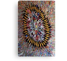 An implosion EXPLOSION Canvas Print