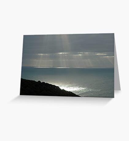 Sun through Clouds Greeting Card