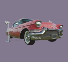 1957 Pink Cadillac at the Drive In. Kids Clothes