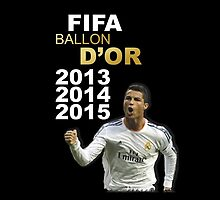Cristiano Ronaldo Ballon D'or 2014 by refreshdesign