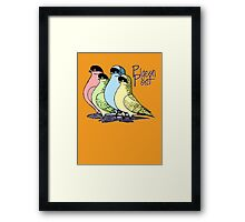 Pigeon Post Framed Print