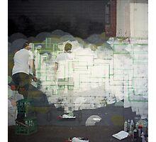 Spray Photographic Print