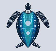leatherback sea turtle by Hinterlund