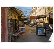 Empty Alley (Hoi An, Viet Nam) Poster