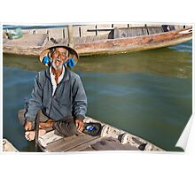 Old Man River (Hoi An, Viet Nam) Poster
