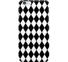 Black and White Harlequin iPhone Case/Skin