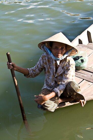 Old Woman River (Hoi An, Viet Nam) by Matthew Stewart