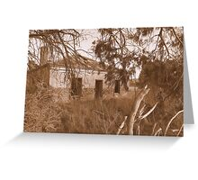 A Home Among the Gumtrees ... Greeting Card