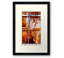 Barbara's Anxiety Framed Print