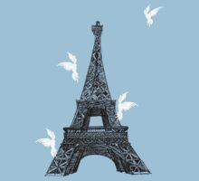 tower birds Kids Clothes