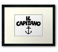 Il Capitano Framed Print