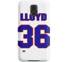 Basketball player Lloyd Neal jersey 36 Samsung Galaxy Case/Skin
