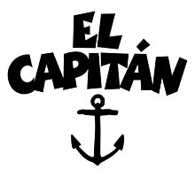 El Capitán Anchor by theshirtshops