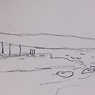 walking to st marys lighthouse by H J Field