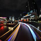 River Point at Clark Quay in Fisheye by Christian Eccleston