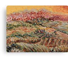 Golden Provence Canvas Print