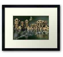 Testing The New KXZ-7 Aero-Submersibles Framed Print