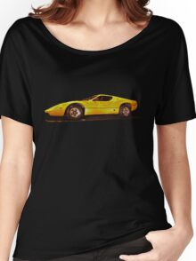 Yellow Purvis Eureka at Night Women's Relaxed Fit T-Shirt