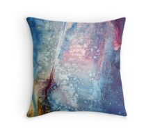 Abstract Outpour Throw Pillow