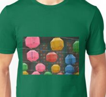 Colorful Lanterns In The Rain T-Shirt