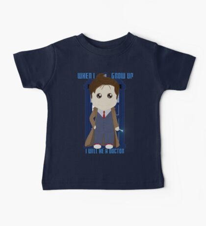 When I grow up, I will be a Doctor Baby Tee