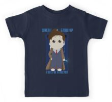 When I grow up, I will be a Doctor Kids Tee