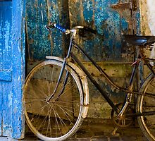 Blue Bicycle by eyeshoot