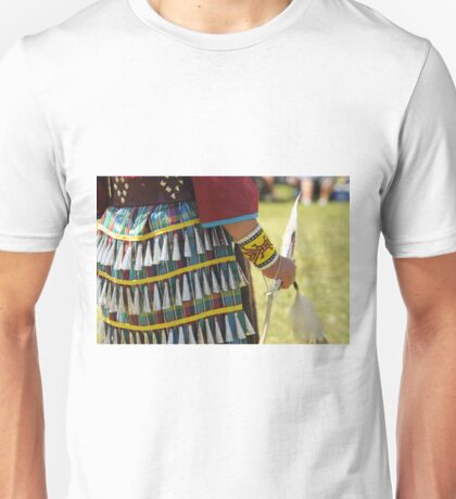 Pow wow jingle dress dancer Unisex T-Shirt