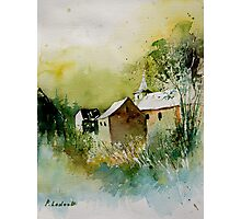 watercolor sosoye belgium Photographic Print