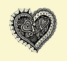 Valentine Heart 2 Aussie Tangle Alternate Vertical Image by Heatherian