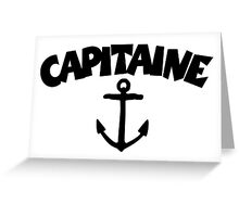 Capitaine Ancre Greeting Card