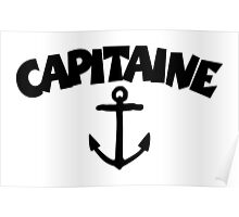 Capitaine Ancre Poster