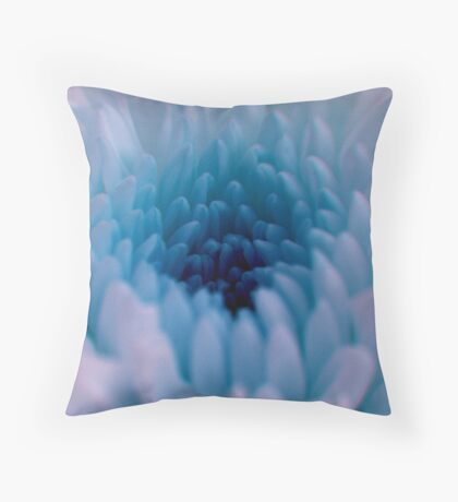 icey blue Throw Pillow