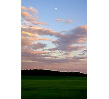 After The Storm- Moon Above Photographic Print