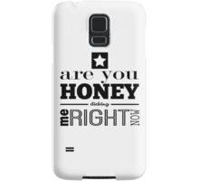 Honey Dicking w/ Star Samsung Galaxy Case/Skin