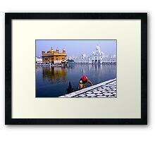 POOL OF NECTAR - INDIA Framed Print