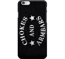Chokes And Armbars iPhone Case/Skin