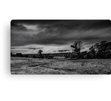 Mist on the Plains Canvas Print